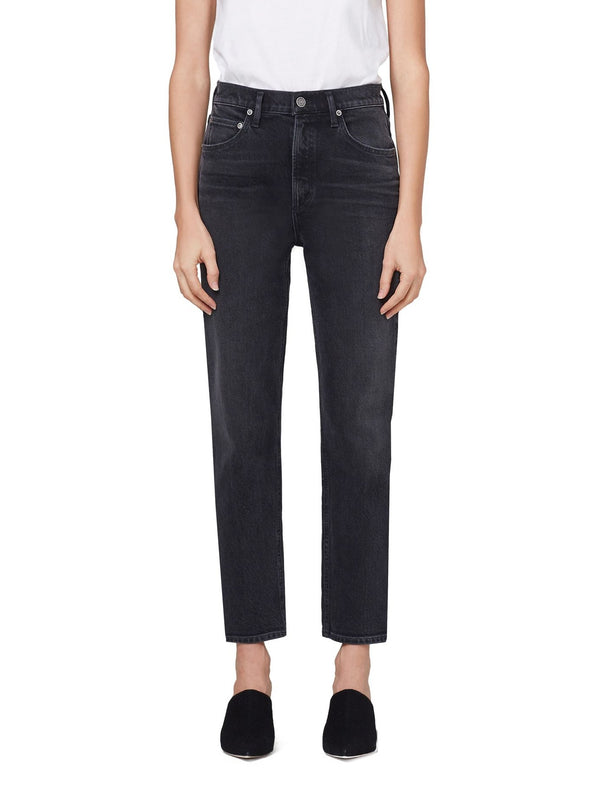 Wilder High Rise Ankle Straight Jean