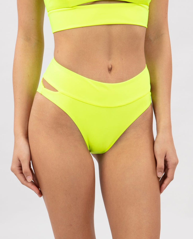 Brights Hi Waist Cheeky Bottom