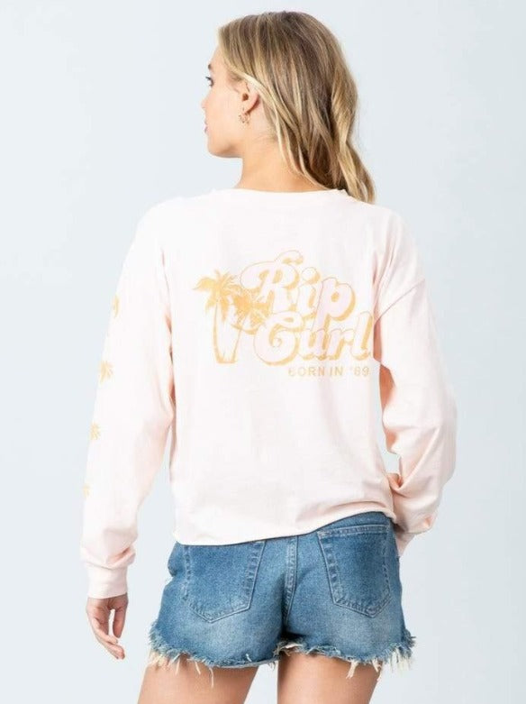 Under The Palms Long Sleeve Tee