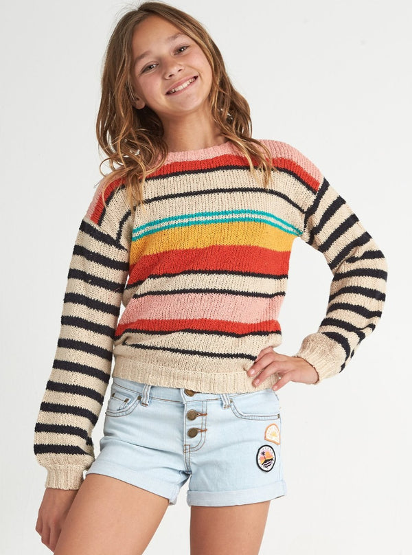 Girls' On The Horizon Sweater