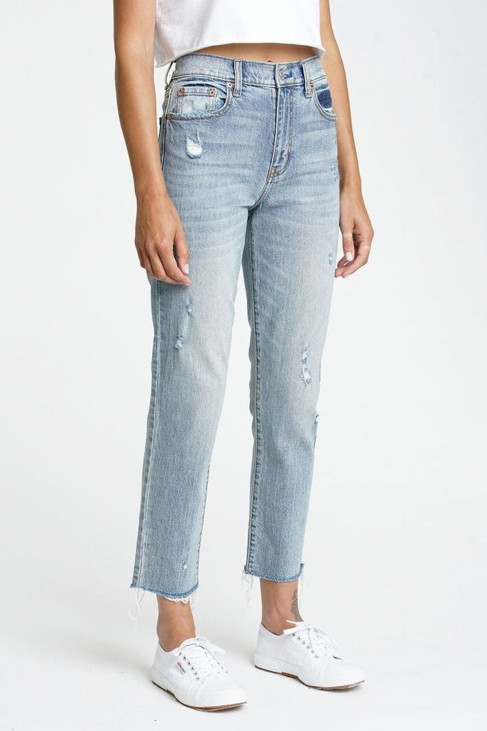 Straight Up Ankle Jeans