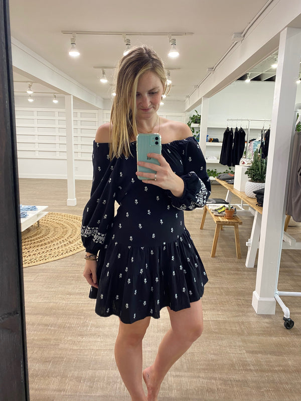 PALOMA MINI DRESS BLACK