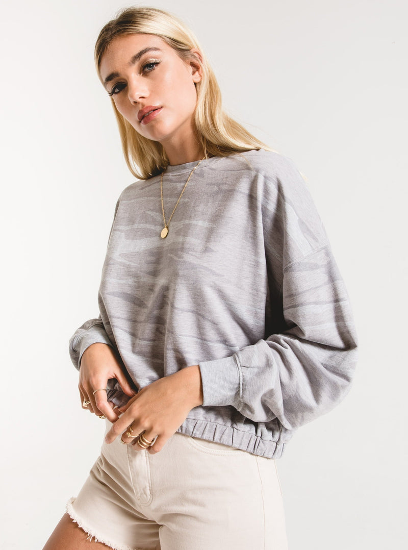 The Camo Relaxed Pullover | 3 Colors