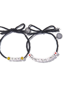 Say Anything DIY Bracelet Set