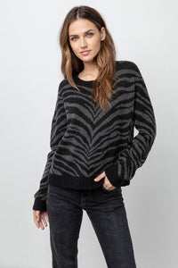 Chance Tiger Stripe Sweater