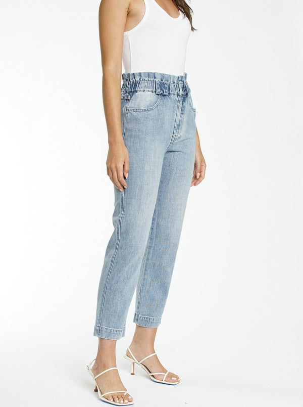 Dakota High Rise Paper Bag Pant