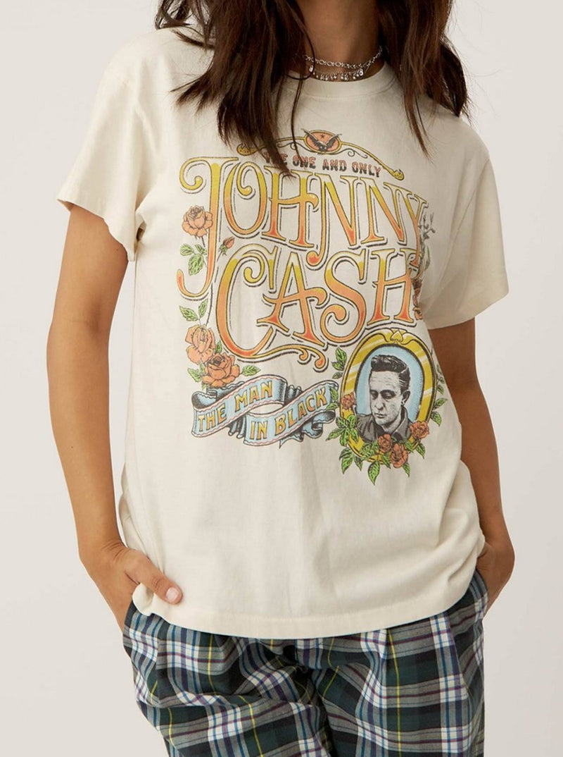 JOHNNY CASH THE ONE AND ONLY TOUR TEE