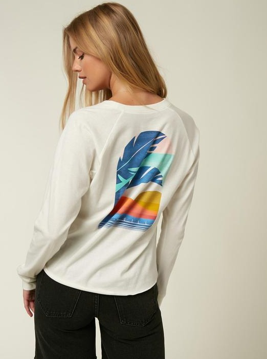 SECRET BEACH LONG SLEEVE TEE