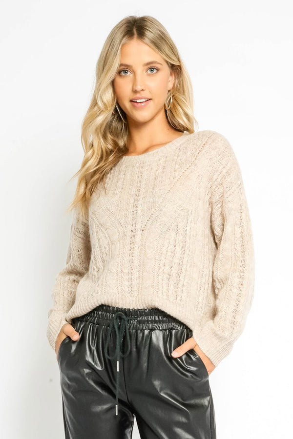 Cozy Knit Sweater | 2 Colors