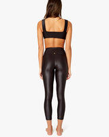 SPLICE LEGGINGS IN CIRE SHINY BLACK