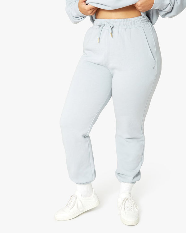 SWEATPANT IN PEARL BLUE