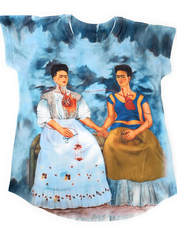 Las Dos Fridas (the Two Fridas) T-Shirt - The Little Pueblo