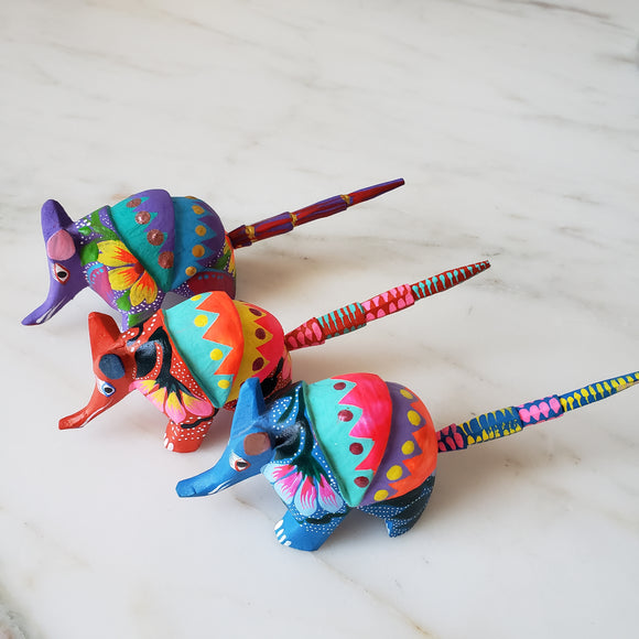 Armadillo Alebrije Oaxaca - Medium - The Little Pueblo