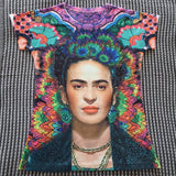 50% OFF Frida Kahlo Women's Graphic Tee Floral T-Shirt - The Little Pueblo