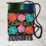Colorful Embroidered Mexican Purse from Chiapas Mexico - The Little Pueblo