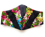 Floral Embroidered Face Mask from Oaxaca - The Little Pueblo