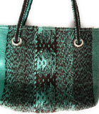 Zapotec Wool Shoulder Tote Bag Oaxacan Handcrafted