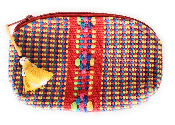 Woven Artisan Travel Pouches from Oaxaca, Mexico