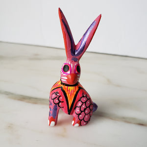 Little Rabbit Oaxacan Alebrije Wood Carving