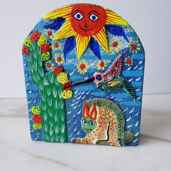 Napkin Holder 3D Hand Painted