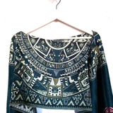 Mexican Poncho Scarf Cape Mexican Shawl Oaxaca Handwoven