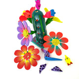 Mexican Cactus Alebrije Oaxacan Wood Carving