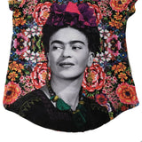 Frida Kahlo Full Print Graphic Tee Floral Mexican T-Shirt - The Little Pueblo