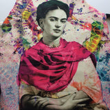Frida Kahlo Apron With 2 Pockets Mexican Colorful Mandil - The Little Pueblo