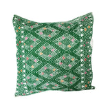 Mexican Mayan Pillow Cover Handmade Embroidered