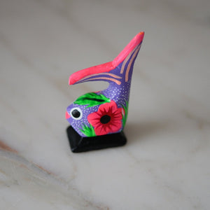 Fish Alebrije Wood Carving Hand Painted - The Little Pueblo