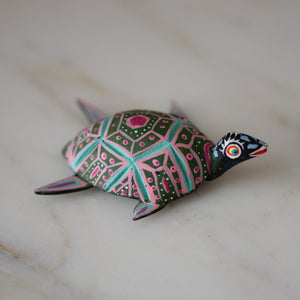 Turtle Alebrije - The Little Pueblo