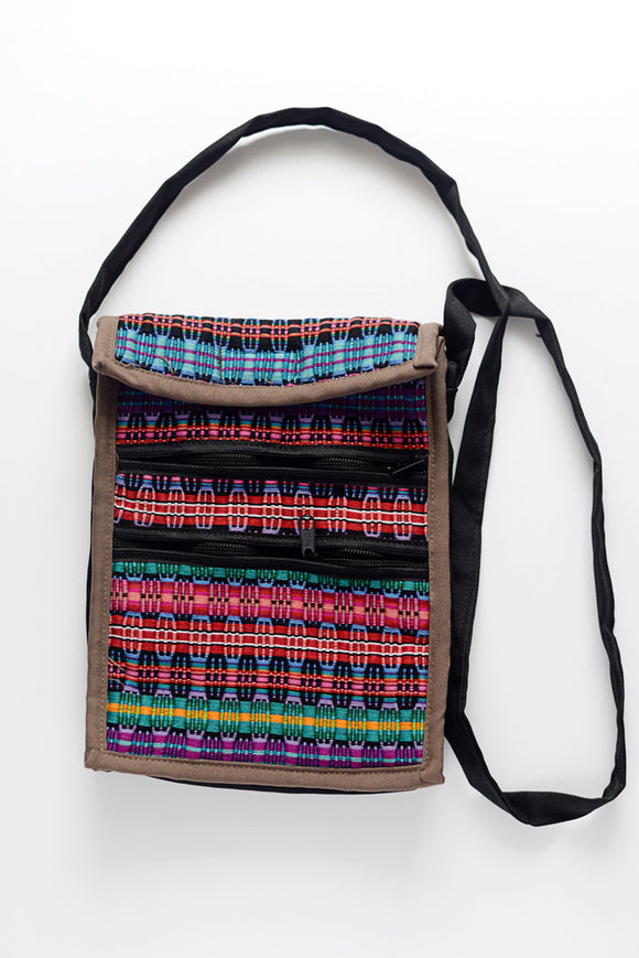 Colorful Woven Mexican Purse from Chiapas Mexico - The Little Pueblo