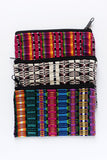 Travel Bag Colorful Mexican Woven Cosmetic from Oaxaca - The Little Pueblo