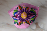 Mexican Floral Face Mask - The Little Pueblo