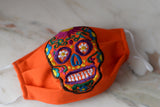 Sugar Skull Face Mask - The Little Pueblo