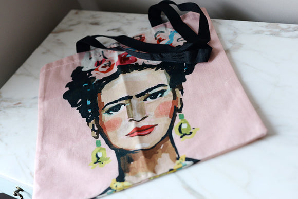 Frida Kahlo Tote Bag - The Little Pueblo