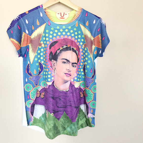 Frida Kahlo Women's Graphic Tee - The Little Pueblo