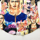 Frida Kahlo Faces Women's Graphic Tee - The Little Pueblo