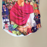 Frida Kahlo Floral Graphic Tee - The Little Pueblo