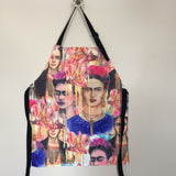 Frida Kahlo Apron With 2 Pockets - The Little Pueblo