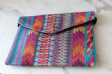 Colorful Mayan Clutch from Chiapas - The Little Pueblo