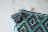 Mayan Embroidered Purse from Chiapas with Tassel - The Little Pueblo