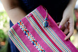 Large Woven Artisan Travel Pouches from Oaxaca, Mexico - The Little Pueblo