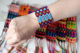 Embroidered Woven Mexican Friendship Bracelets - Small - The Little Pueblo