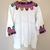 Mexican Embroidered Shirt Handmade in Chiapas - The Little Pueblo