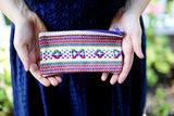 Bag - Large Woven Mexican Pouch - The Little Pueblo