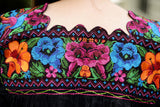 Mexican Traditional Embroidered Needlepoint Shirt - The Little Pueblo