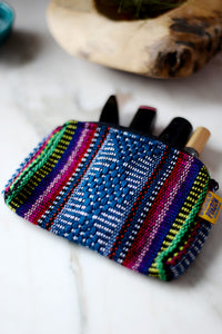 Bag - Pinzon - Woven Travel Pouch Handmade in Mexico - The Little Pueblo