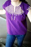 Shirt - Traditional Mexican Shirt handmade in Mexico - The Little Pueblo