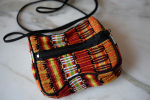 Bag - Coin Purse with strap - Guatemala - The Little Pueblo
